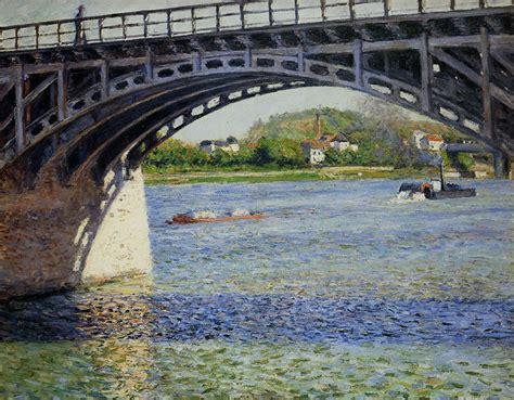 gustave caillebotte le pont d argenteuil et la seine 1885