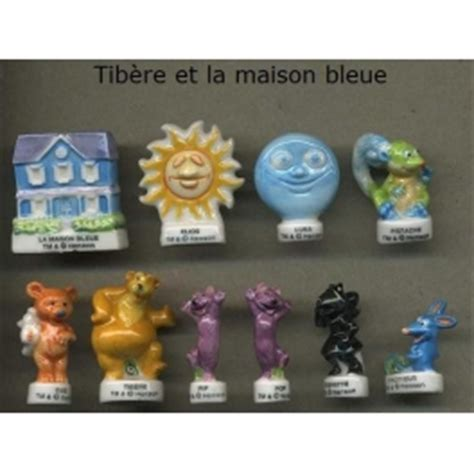 complete set of 10 feves tib 232 re et la maison bleue i fabofolie s