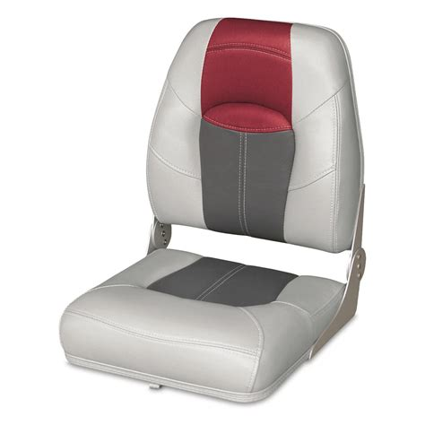 Red Fishing Boat Seats by Wise Premium Big Man Fishing Boat Seat 96435 Fold Down