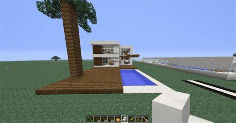 galerie maison moderne de luxe minecraft