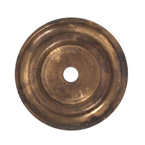 classic hardware brass cabinet knob backplate s restorers 174