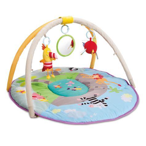 tapis d 233 veil aire de jeu jungle de taf toys sur allob 233 b 233