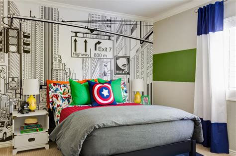 This Superherothemed Kid's Room Will Knock Your Socks Off