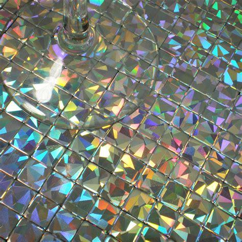 mosaics tile iridescent aluminum plate mirror adhesive