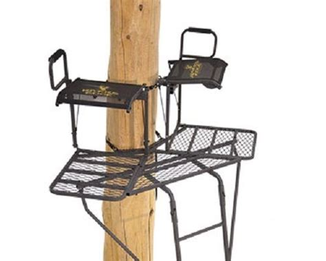 New Rivers Edge Re636 500 Lb Capacity 2-man Bowman Hunting Treestand