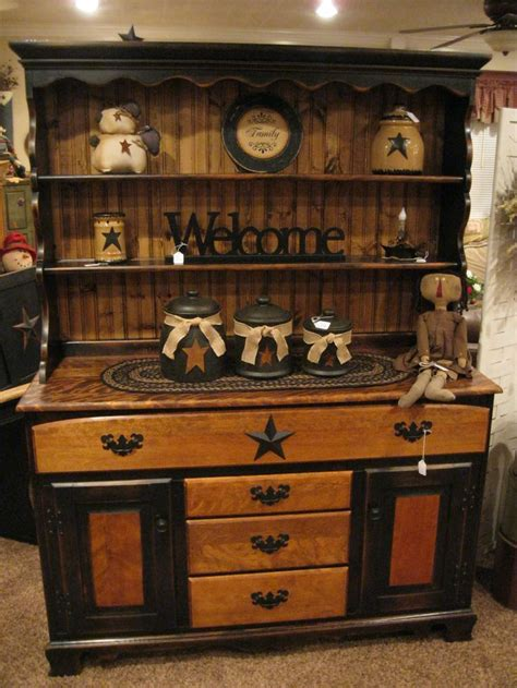 best 20 primitive hutch ideas on country