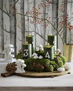 Weihnachtsdeko Ideen 2017 : 1001 adventskranz ideen und bilder f r ihre weihnachtsdeko ~ Markanthonyermac.com Haus und Dekorationen