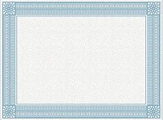 PowerPoint Certificate Template Ornate Border – eLearningArt