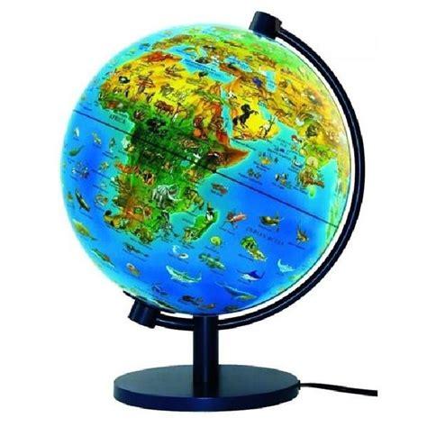 globe terrestre lumineux monde animal livret achat vente carte planisph 232 re cdiscount