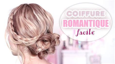 chignon romantique rapide et facile 224 faire soi m 234 me tuto coiffure cheveux mi slouby fr