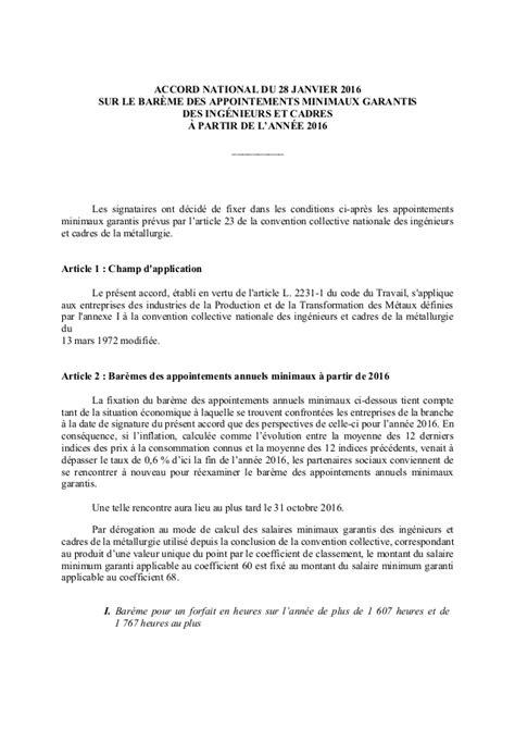 idcc convention collective nationale des ingenieurs et cadres de la metallurgie ccmr