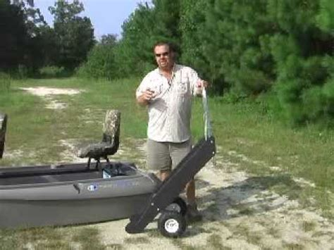 Bass Hunter Boat Modifications by Quick Lift Boat Dolly Youtube
