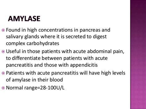 diagnostic enzymes