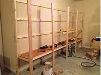 how to build wall shelves How to Build Sturdy Garage Shelves Â« Home Improvement ...
