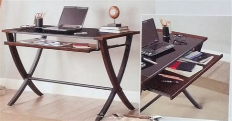 bayside furnishings nalu office computer desk with slide out tray costco weekender