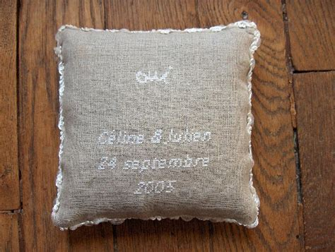 mod 232 le coussin alliances 224 broder