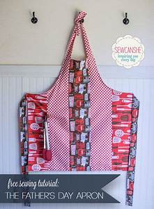 Free Tutorial: Father's Day BBQ Apron | Dads, Patterns and ...