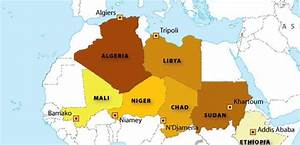 Top 10 Largest African Countries By Area