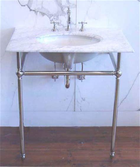 Bath Consoles, Antique Bathroom Console Sink American