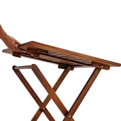 salon de jardin 2 chaises 1 table pliantes bois huil 233 acacia balcon t