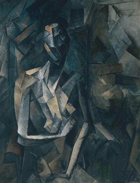 file pablo picasso 1909 10 figure dans un fauteuil seated femme nue assise on