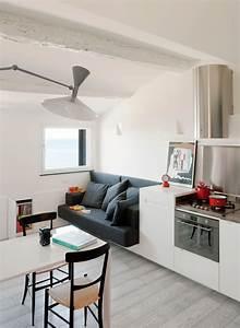 Mini Apartment Einrichten : small modern attic apartment with harbour view idesignarch interior design architecture ~ Markanthonyermac.com Haus und Dekorationen