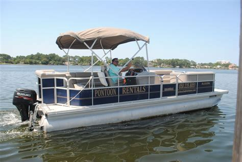 Panama City Beach Speed Boat Rentals by 24ft Pontoon Rental 12 Per Max In Panama City Beach
