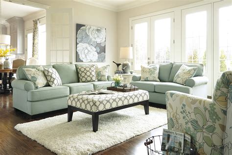 Seafoam Living Room Set By Signature Design Living Room Modern Sets How To Build A Gaming Pc Small Sitting Ideas Rubber Flooring Bar Times Square Unique Wallpaper Interior Design Brown John Lewis Oak Furniture