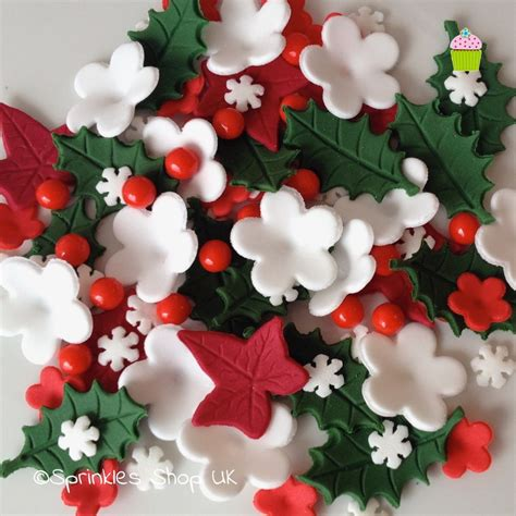 cake toppers edible sugar paste flowers cup cake decorations ebay