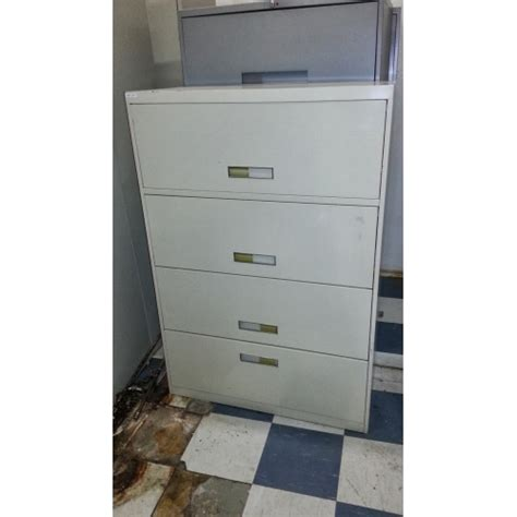 hon 4 drawer lateral filing cabinet 36 quot allsold ca buy sell used office furniture calgary