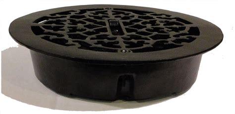 cast iron floor register louvered heat grate antique