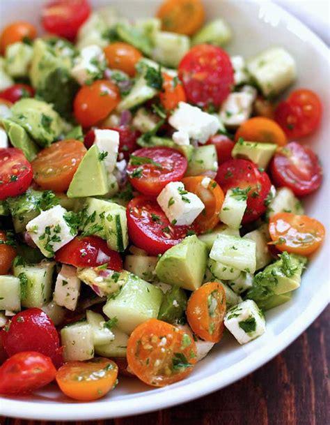 salade healthy salade fra 238 cheur 11 salades l 233 g 232 res et color 233 es pour 234 tre en forme tout l 233 t 233