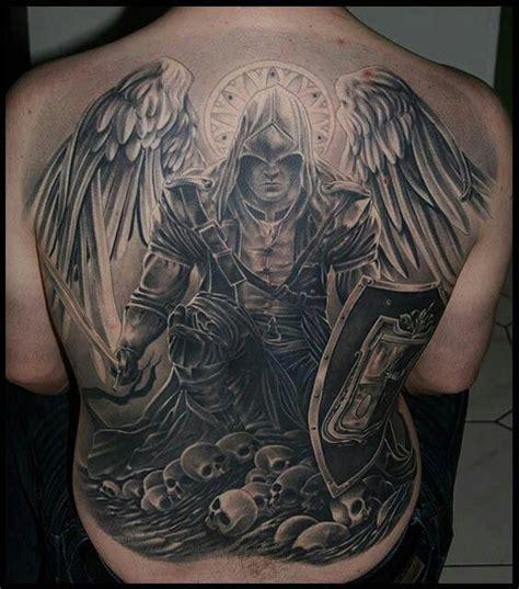 Tatouage Dos Ailes Ange Demon Tattoo Art
