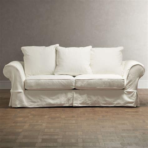 pottery barn charleston slipcovered sofa decor look alikes