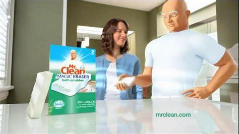 mr clean magic eraser bath scrubber tv commercial clean