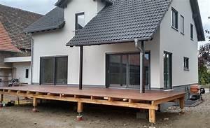 Balkon Nachträglich Anbauen Kosten : terrasse planung umsetzung abenteuer hausbau ~ Markanthonyermac.com Haus und Dekorationen