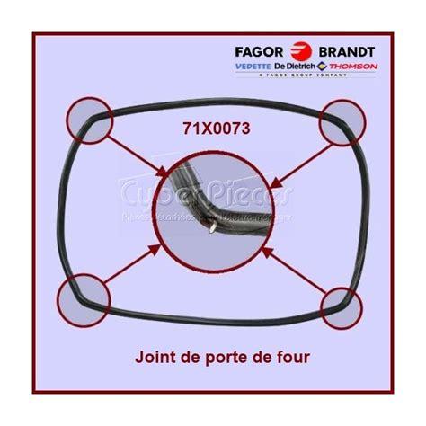 joint de porte de four 71x0073 pour fours ou cuisinieres cuisson pieces detachees electromenager