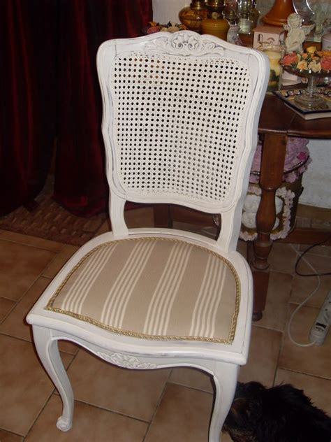 relooker une chaise cannee atelier retouche