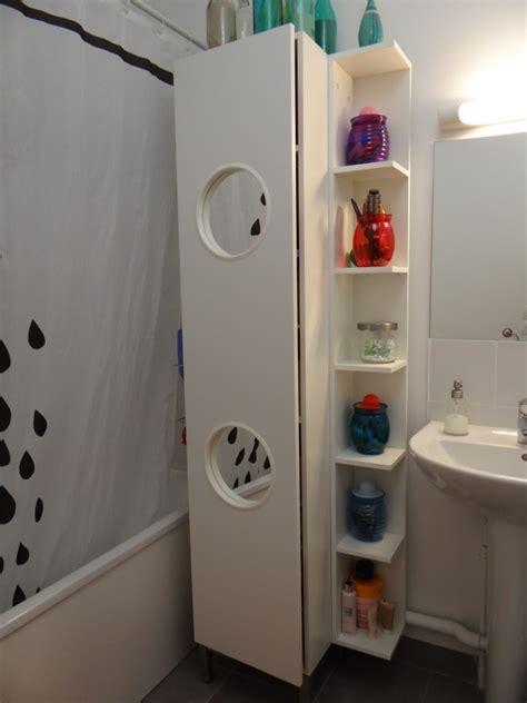 le panier 224 linge lillangen devient un placard de salle de bain bidouilles ikea