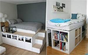 Günstig Bett Selber Bauen : schreibtisch ikea selbst zusammenstellen ~ Markanthonyermac.com Haus und Dekorationen