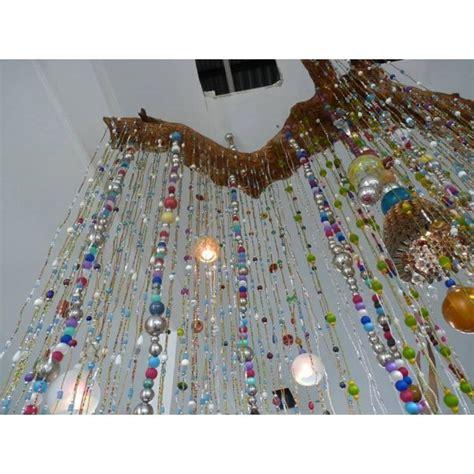 rideaux perles de verre rideau de perles d 233 co inspiration boh 232 me rideaux de