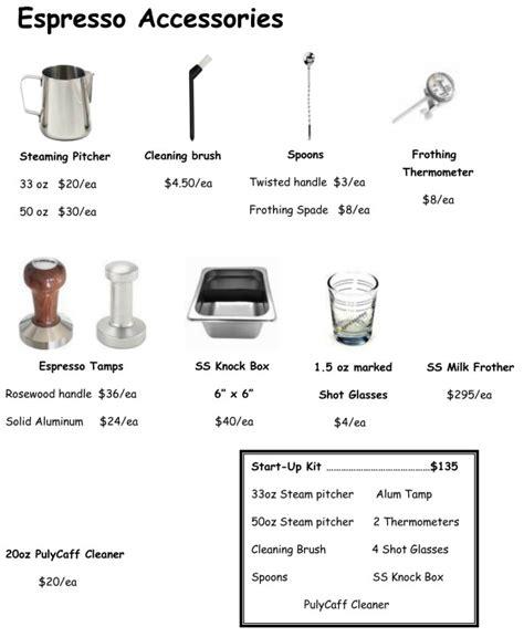 Bravo Equipment Services coffee accessories