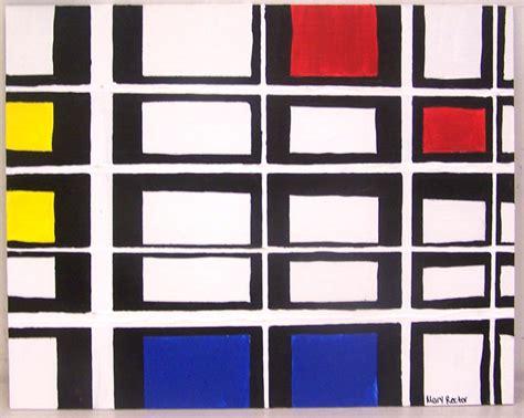 Piet Mondrian by Pomme Sucre Piet Mondrian