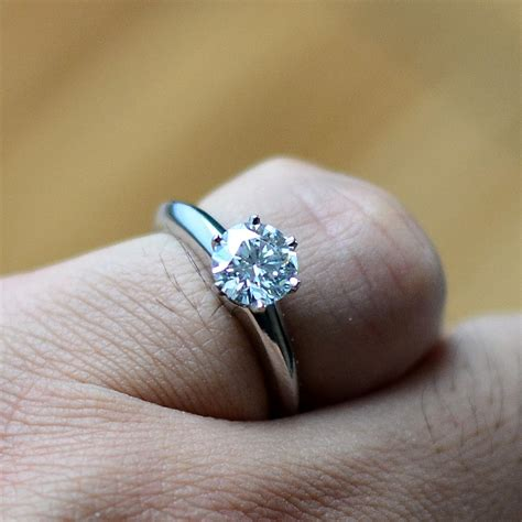 Tiffany&co Round Brilliant Cut Diamond Engagement Ring In. Short Rings. Tooth Rings. Hex Engagement Rings. Thranduil Rings. Medieval Rings. Person Wedding Rings. Makluan Rings. Ancient Egyptian Rings