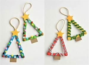 Bastelideen Weihnachten Kinder : weihnachten basteln kinder tannenb ume eisstiele baumschmuck schule pinterest eisstiele ~ Markanthonyermac.com Haus und Dekorationen