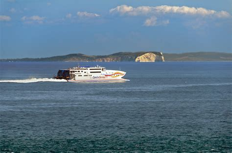 Catamaran Condor Ferries by Foto S Fietsen Rond Het Kanaal 68x