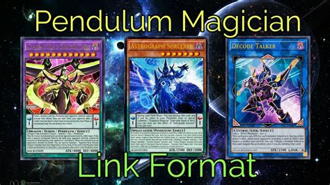 pendulum magician deck link format 2017 tcg banlist