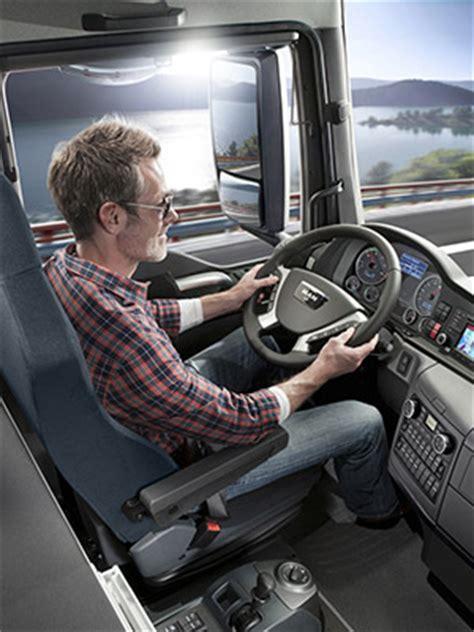 cabine xl tgx dans le transport courrier camions suisse