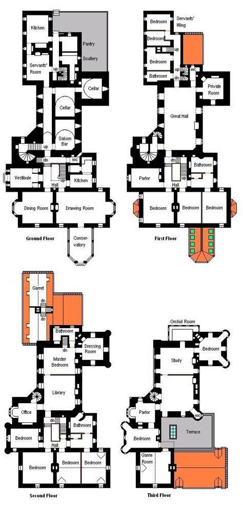 ayton castle floor plans castles palaces house pix for gt scottish castle house plans grand
