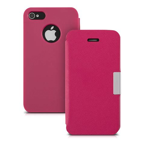 kwmobile 201 tui de protection pour apple iphone 4 4s 192 rabat chic housse prot 200 ge ebay